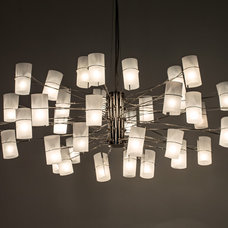contemporary chandeliers by AM Studio Lighting