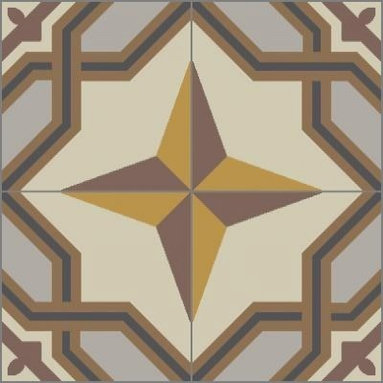 Granada Tile - Tile Sample La Rochelle 911 A - La Rochelle takes its bearing from the north star and its design sensibilties from France.