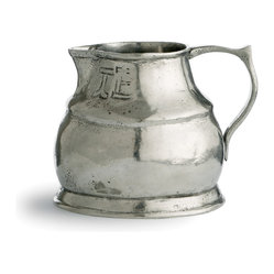 Arte Italica - Vintage Small Pitcher - Add the stately presence of pewter to your decor. This one-of-a-kind pitcher, crafted using age-old techniques, makes a marvelous serving piece at your table — or simply keep it out on display.