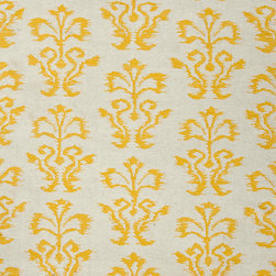 Jaipur Rugs - Flat-Weave Tribal Pattern Wool Ivory/Yellow Area Rug (2 x 3) - A range of beautifully designed flatweaves in a stunning color palette. Hand woven from 100% wool ach rug has its own personality and is versatile and easy to use.