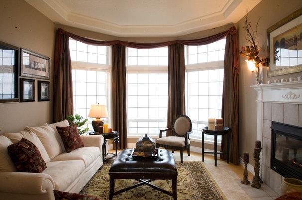 Traditional Living Room by Julie Nolta Design