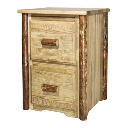 Rustic Filing Cabinets: Find Vertical and Lateral File ...
