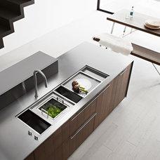 Modern Kitchen Sinks by Fisker International