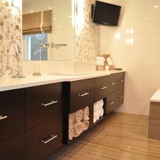 Contemporary Bathroom Vanities And Sink Consoles by Rafael Designs LLC