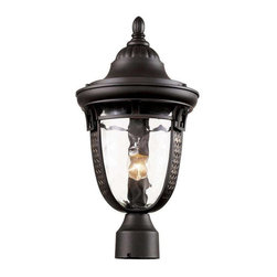 Trans Globe Lighting - Trans Globe Lighting 40223 ROB Outdoor Post Light In Rubbed Oil Bronze - Part Number: 40223 ROB