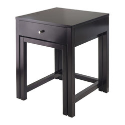 Copenhagen 2-Piece Nesting Table Set with Glass Top