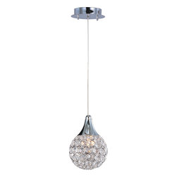 ET2 - ET2 E24023-20PC Brilliant 1-Light Pendant - ET2 E24023-20PC Brilliant 1-Light Pendant