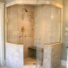 Eclectic Showers by OASIS SHOWER DOORS
