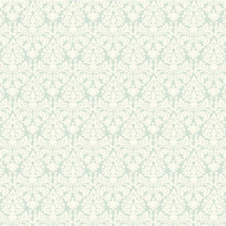Green Essence Waverly Small Prints Collection - This modest sized, but beautifully ornate damask design is tightly formed but the contrasting background peeks through. Some versions feature metallic or pearlescent inks for a dazzling effect. There are seven choices such as white with silvered pearl or dark stone grey with glittering black that work with Glitz or Arbor Trail in appropriate shades.