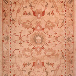 TB275A Tibetan Rug - 10'x14' - Safavieh's High Touch Tibetan Weave brings an ancient weave and fine materials to the present sensibilities of today's interior design. Simple geometric patterns, almost hidden within the weave, with muted accents, soft shades and neutral earth tones, are the main visual characteristics of this series.