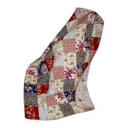 Greenland Home Amelia Quilted Patchwork Throw - Colorful quilted throws draped at the end of a bed or over the arm of a couch add warmth, charm and character to a room inexpensively.