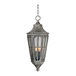 Maxim Lighting - Transitional Three Light Up Lighting Outdoor Pendant - Muted hues and softly blended tones combine for an understated sophisticated effect in the Beacon Hill hanging lantern.