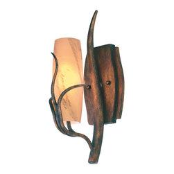 Kalco Lighting - KALCO Lighting 4761GW/SUNSET Napa Golden Wheat Wall Sconce - KALCO Lighting 4761GW/SUNSET Napa Golden Wheat Wall Sconce