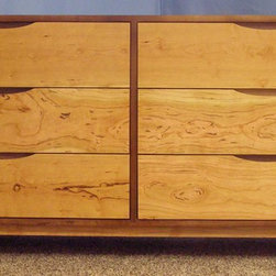 6 Drawer Dressers - Danish Modern Dresser (Item # 6D822)
