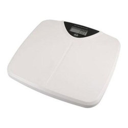 """American Weigh Scales - Digital Scale Large LCD - Digital scale with a strong metal base and comfortable plastic platform has a 330 lb capacity 0.2lb graduation large LCD display (1.1""""x2.4"""") platform size 12.4""""x12"""" Lithium battery included. The 330SW from American Weigh is an economical solution for personal health at home. This durable scale features a comfortable plastic platform with a strong metal base for stability. The large LCD is also easy to read from a distance."""