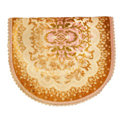 EuroLux Home - Vintage French Pink Gold Table Runner - Product Details