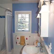 Traditional Bathroom by DJ's Home Improvements