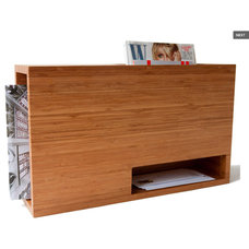 contemporary magazine racks by Unit 1 Storage Kalon Studios