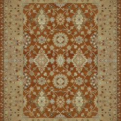 Loloi Elmwood EW-05 Rust, Light Gold Rug