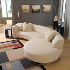 Contemporary Sectional Sofas by BARBARA SCHAVER DESIGNS