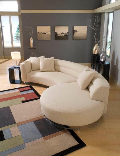 Contemporary Sectional Sofas by BARBARA SCHAVER DESIGNS