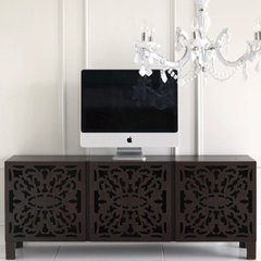 contemporary media storage by Brocade Home
