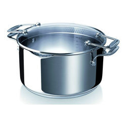 Beka - Beka Chef Pratique 5.3 Qt. Easy Pour Casserole - A ecologic casserole for the culinary chefs, with 2 side handles. The handles are secured with rivets. Inside, the casserole carries the innovative environmentally friendly coating, Bekadur Ceramica. The casserole is suitable for all hobs, including induction.
