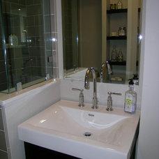 Modern Bathroom by May Construction, Inc.