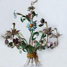Eclectic Chandeliers by Paris Couture Antiques