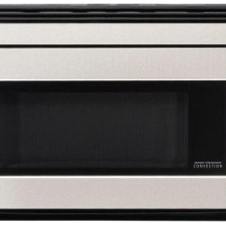 Sharp - R1874T 1.1 Cu. Ft. Over-the-Range Microwave Oven with 850 Cooking Watts in Stain - Sharp Convection Microwave Over the Range ovens are the most advanced design on the market These easy-fitting designs provide added room and installation is simple offering flexibility for new homes or remodeling projects