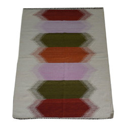 1800-Get-A-Rug - Durie Kilim Oriental Rug Hand Woven Flat Weave Sh10469 - About Flat Weave
