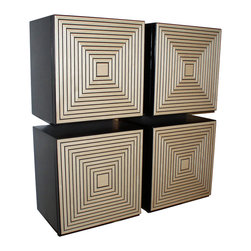 Irvin Studio and Design - The Maze Storage Box, Cream - $395.00 per box.