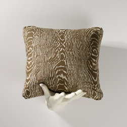 Homeware - Homeware Camel Accent Pillows - Set of 2 - HWP011-18-120CAM - Shop for Pillows from Hayneedle.com! You decide whether you're seeing wood grain or something wilder in the Homeware Camel Accent Pillows - Set of 2. In neutral camel and ivory tones they're a pair to be reckoned with. Add sass and visual interest to your contemporary or transitional living space. Crafted in the USA.Not available for sale in or delivery to the state of California.About HomewareHomeware is driven by an innovative spirit and a passion to change the way America buys and lives with furniture. Homeware wants to save you from shopping in a big box bringing home a smaller box and ultimately being psychologically harmed by your encounter with a slew of parts and incomprehensible assembly instructions. Instead of that Homeware supports your choice to shop in your jammies and Homeware is determined to support your success. Homeware chairs are made to live and move with you. They come to you in two pieces within two special boxes and regardless how rudimentary your handyman skills may be YOU can assemble them without tools. Within minutes they assure you you will be enjoying a chair that's as sturdy and solid as any you've beheld. The secret? It's designer and engineer Jon Koch's ingenious and revolutionary fastening device which makes possible speedy chair assembly by the mechanically uninitiated. Homeware keeps a stable of furniture savants on call 24-7 to answer your questions including but not limited to questions about their chairs and pillows and they stand behind their products with bravado.