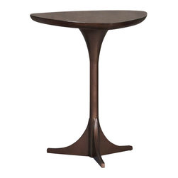 Hammary - Hammary Mila Tripod Table in Burnished Copper - Tripod Table in Burnished Copper belongs to Mila Collection by Hammary End Table (1)