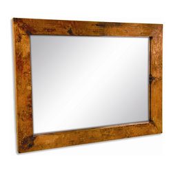Mathews & Company - Large Rectangle Copper Mirror - Our overview of the new Large Rectangle Copper Mirror is on its way but you can still purchase this wonderful piece for your living quarters today. If you have questions about the product just drop a line or send us an email!
