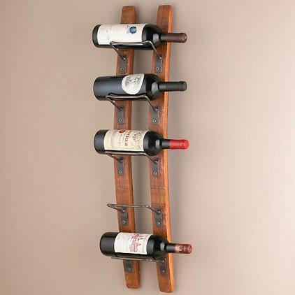 Midcentury Wine Racks by Wine Enthusiast Companies