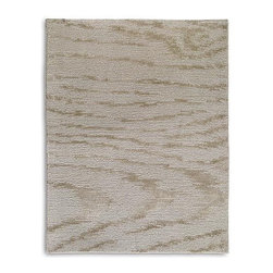 Frontgate - Faux Bois Wool Area Rug - From Safavieh, known worldwide for quality and style. Soft wool and silk blend. Hand-knotted. Easy to care for. Our Faux Bois Wool Area Rug uses a loop configuration to replicate a delicate wood grain pattern. This design is sure to attract attention in your home. . .  . .