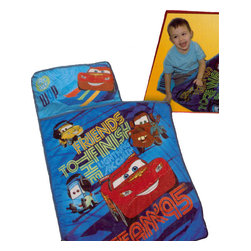 Jay Franco and Sons - Disney Cars 2 Lighting McQueen Friends Toddler Nap Mat - Features: