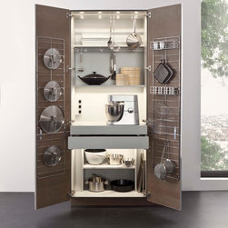 Kitchen Storage, Leicht Collection 2015 - Cooking center