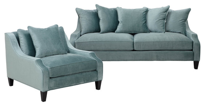 Transitional Sofas by Z Gallerie