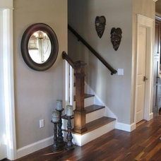 """House / From another pinner, """"Pretty gray -- sherwin williams """"Pavillion Beige"""""""