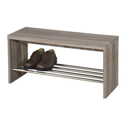 clover bench in reclaimed - !nspire