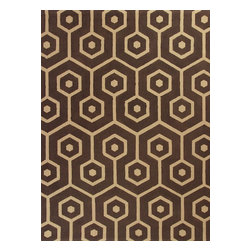 """Kas - Contemporary Natura 2'3""""x3'9"""" Rectangle Mocha Area Rug - The Natura area rug Collection offers an affordable assortment of Contemporary stylings. Natura features a blend of natural Slate color. Handmade of 100% Jute the Natura Collection is an intriguing compliment to any decor."""