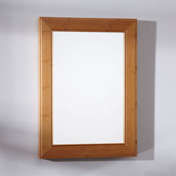 """20"""" Takeo Bamboo Vanity Mirror - The 20"""" Takeo Bamboo Vanity Mirror features a sleek design with a natural bamboo finish. It is designed to go perfectly with our Bamboo vanity cabinets."""