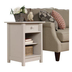 Sauder - Sauder Original Cottage Side Table in Cobblestone Finish - Sauder - End Tables - 414684 - About the Sauder Original Cottage Collection: