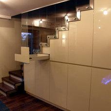 Modern Closet Organizers by Module House Konrad Kiluk / Eco Villa