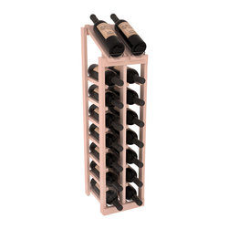 Wine Racks America - 2 Column 8 Row Display Top Kit in Redwood, White Wash Stain + Satin Finish - Display your best vintage while efficiently storing 16 wine bottles. This slim design is a perfect fit for almost any space. Our wine cellar kits are constructed to industry-leading standards. Display top wine racks are perfect for commercial or residential environments.