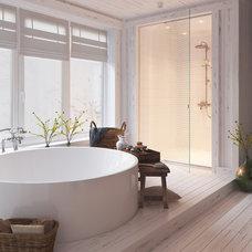 Rustic Bathroom by Aeroslon