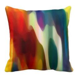 Abstract Art Fury Pillow - BUY HERE:    VangsgardGallery
