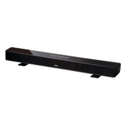 "RCA - RCA RTS736W 30"" Wi-Fi Streaming Soundbar - � Built-in Wi-Fi (802.11 n/g/b);� 3.0 channel;� 25W total power;� Rear analog audio input;� Side line in ;�Streams online movies, TV shows, videos, audio & photos;� 1080p HDMI(R) output;� Bass & treble controls;� Table or wall mount configuration;� Includes remote"